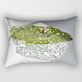Leaf Light III Rectangular Pillow