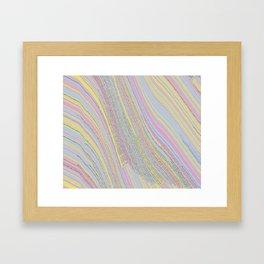 onetimethisguy... (Bitmap Glitch) Framed Art Print