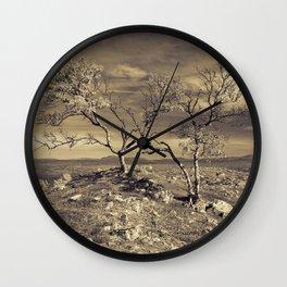 Loney trees Wall Clock