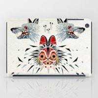 princess mononoke iPad Cases featuring mononoke princess by Manoou