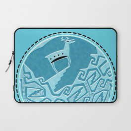 Blue Antelope Laptop Sleeve