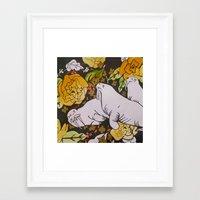 walrus Framed Art Prints featuring Walrus by Eliza LaCroix