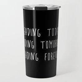 Reading (inverted) Travel Mug
