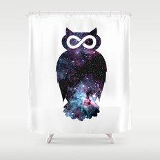 Super Cosmic Owlfinity Shower Curtain