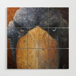 Shoebill (Balaeniceps rex) Wood Wall Art