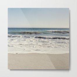 Malibu Beach Metal Print