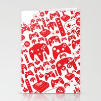 gaming Stationery Cards featuring Gaming Love by Tombst0ne