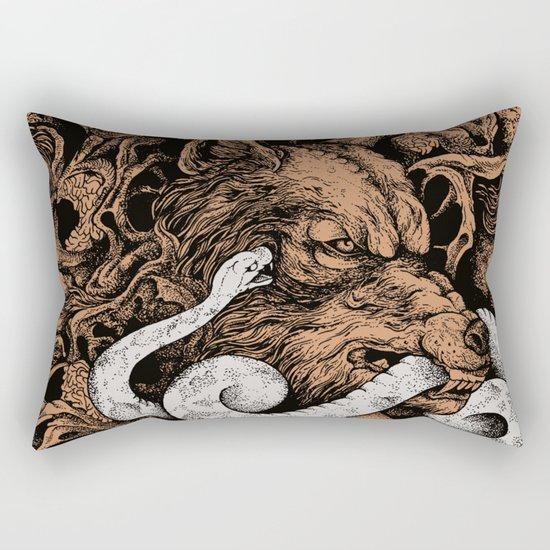 The End Of Light Rectangular Pillow
