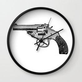 Revolver 4 Wall Clock