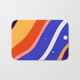 Whimsical waves Bath Mat