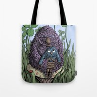 mom Tote Bags featuring Mom by David Comito