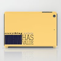 literary iPad Cases featuring Literary Quote Poster — A Passage to India by E.M. Forster by Evan Beltran