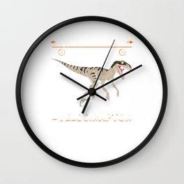 Distanceraptor/Timeraptor = Velociraptor Wall Clock