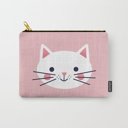 Friendly Cat Carry-All Pouch