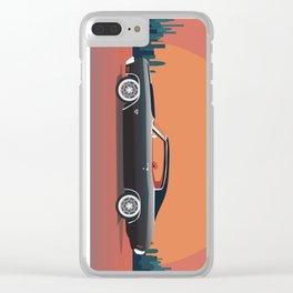 Classic Car Clear iPhone Case