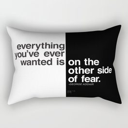 Fear Rectangular Pillow