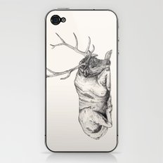 Stag // Graphite iPhone & iPod Skin