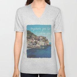 Italia Unisex V-Neck