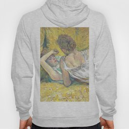 """Henri de Toulouse-Lautrec """"L'abandon (Les deux amies)"""" Hoody"""