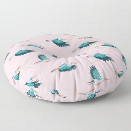 Kingfishers Floor Pillow