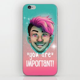 Markiplier - You Are Important iPhone Skin