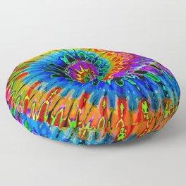 Spun Out Hippie Floor Pillow