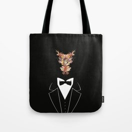 Flowers clerk Tote Bag