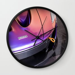 McLaren P1 - Cerberus Pearl - Nose Angle Wall Clock