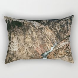Yellowstone Falls / Grand Canyon of the Yellowstone Rectangular Pillow