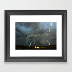 When it all Comes Down - Revisited Framed Art Print