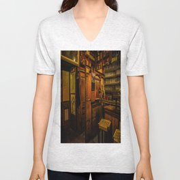 Old Irish Pub Unisex V-Neck