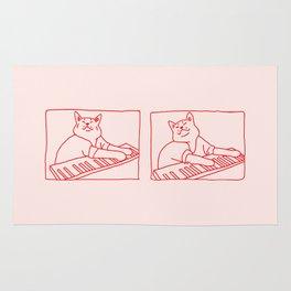 Cat in Meme Major Rug