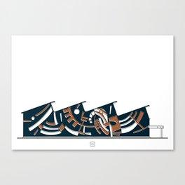 Talleres Facultad de Ciencias Canvas Print