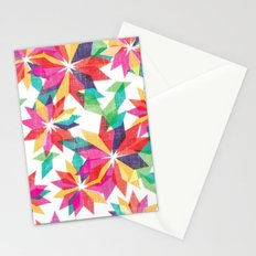 Geo Floral Stationery Cards