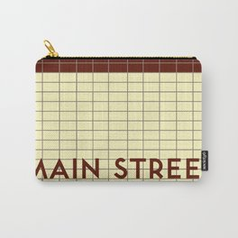 MAIN STREET   Subway Station Carry-All Pouch