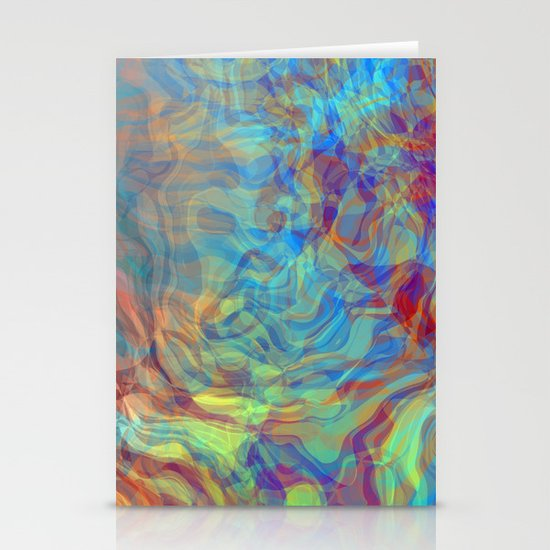Like Fire and Ice Stationery Cards