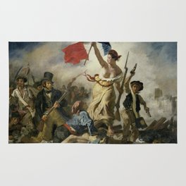 Liberty Leading the People (High Resolution) Rug