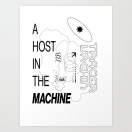 Ghost in the Machine Art Print