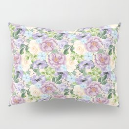 Roses & Forget Me Nots Pillow Sham