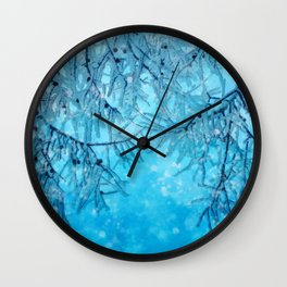 Winter vibes Wall Clock