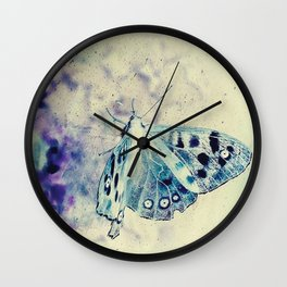 Butterfly Dome Wall Clock