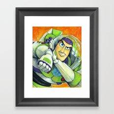 BUZZ: SPACE RANGER Framed Art Print