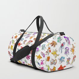 Aquarium Gold Fish Series Duffle Bag