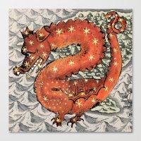 carpe diem Canvas Prints featuring Carpe Diem by anipani