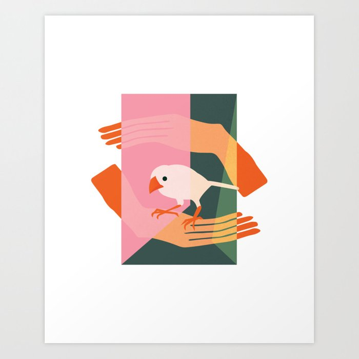 Confinement for Meaning Art Print