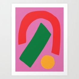 Abstract #41 Art Print