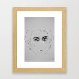 SPIKE SPIEGEL Framed Art Print