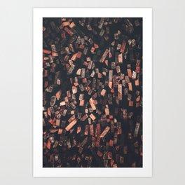 Timber 3 Art Print