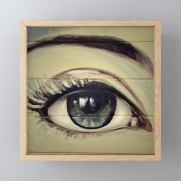 Eye Study #2 (Mural) Framed Mini Art Print