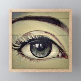 Eyes are Windows to the Soul Framed Mini Art Print